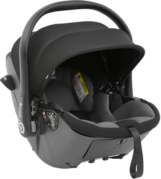 Kiddy Evoluna i-Size Car Seat - Egg Black
