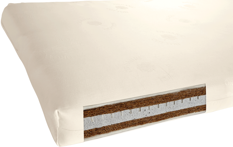 Mamas & Papas All-Natural Anti-Allergy with Thermo Cotbed Mattress