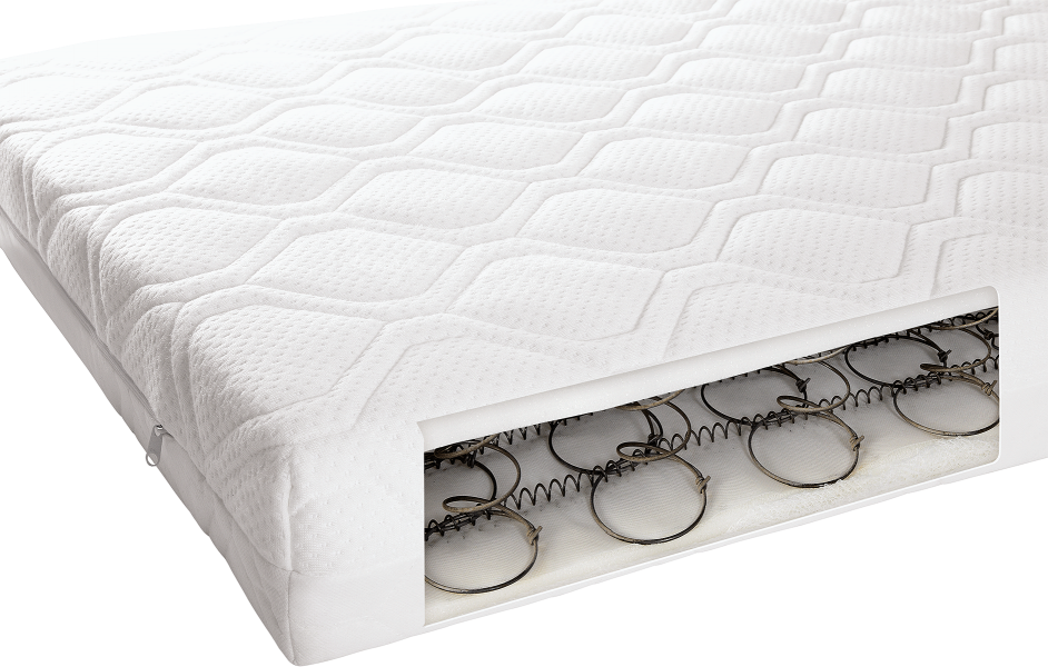 Mamas & Papas Sprung Anti-Allergy and Temperature Regulating Cotbed Mattress
