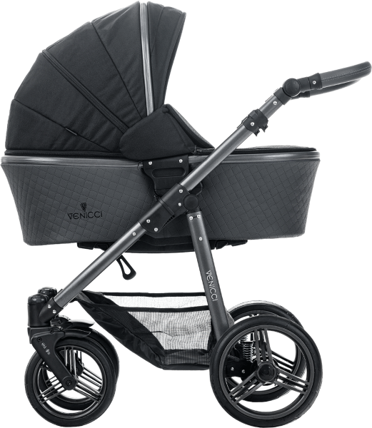 Venicci Carbo Black Lux 3in1 Pram