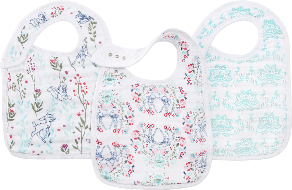aden + anais Classic Snap Bibs - Disney Collection