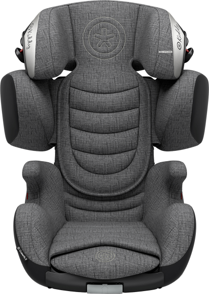 Kiddy Cruiserfix 3 Car Seat - Grey Malange Edition