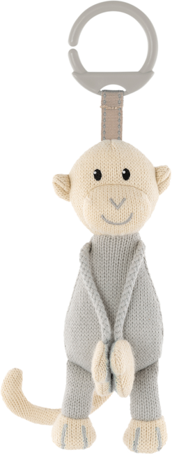 Matchstick Monkey Knitted Hanging Monkey Toy