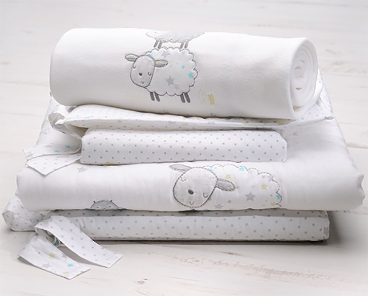 Silvercloud Counting Sheep Bedding Set