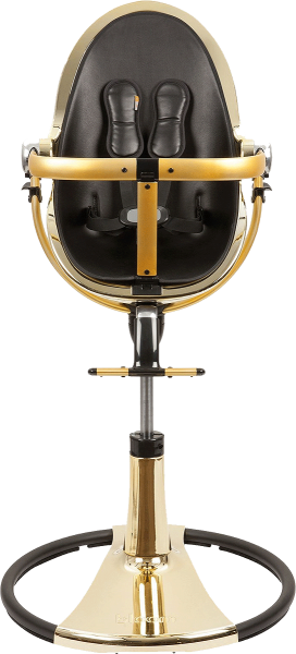 Bloom Fresco Chrome Highchair - Gold / Black