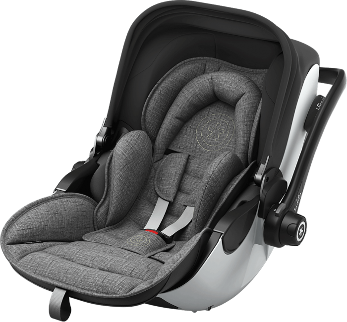 Kiddy Evoluna i-Size 2 Car Seat - Grey Malange Edition
