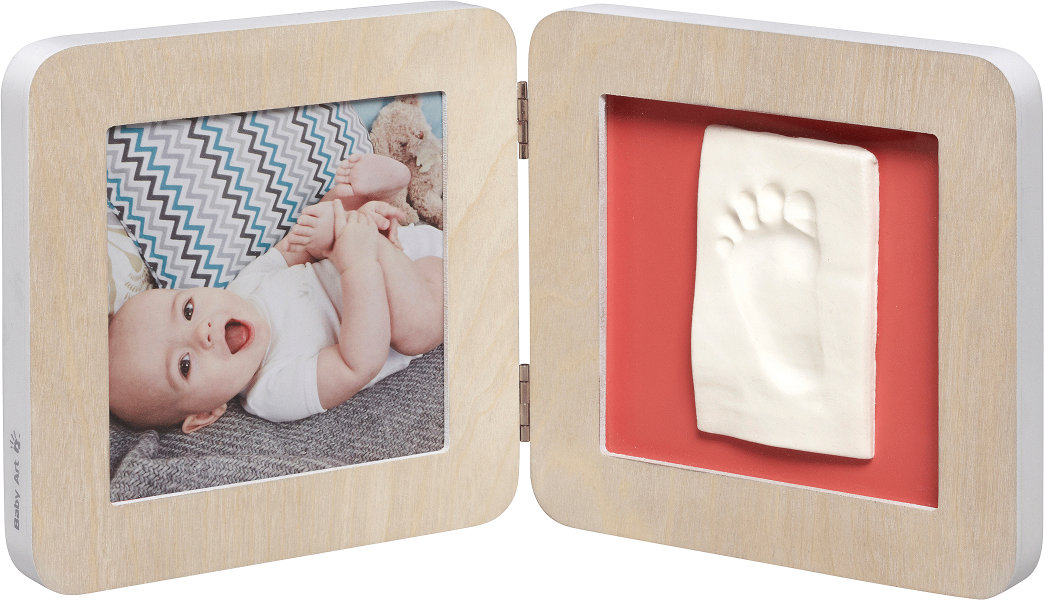 Baby Art My Baby Touch Print Frame Scandinavian Wood
