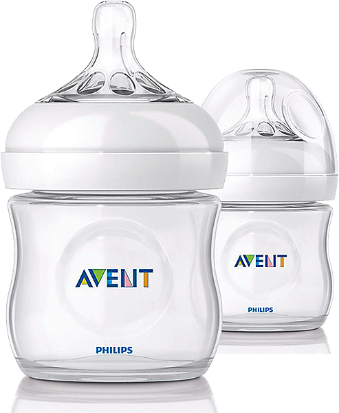 Philips Avent Natural 125 ml Bottle - Twin Pack