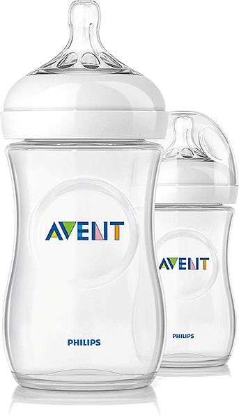 Philips Avent Natural 260 ml Bottle - Twin Pack
