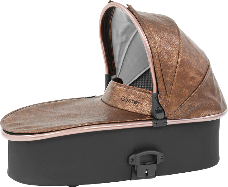 Babystyle Oyster 2 Rose Gold Carrycot - Copper