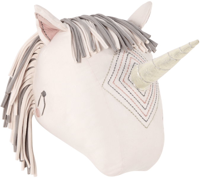 Mamas & Papas Unicorn Head Wall Art