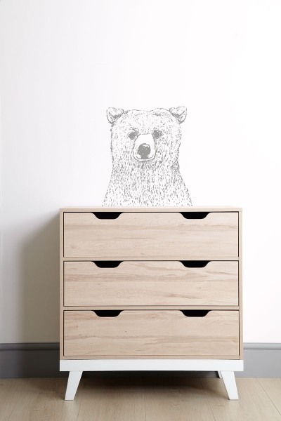 Mamas & Papas Bear Wall Sticker
