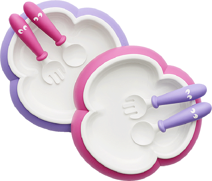 BabyBjörn Baby Plate, Spoon and Fork