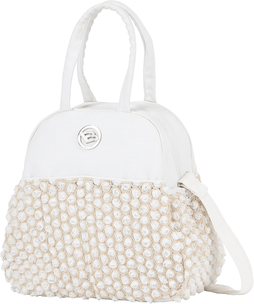 Bebecar Stylo Class EL SPE Changing Bag - White Bouquet