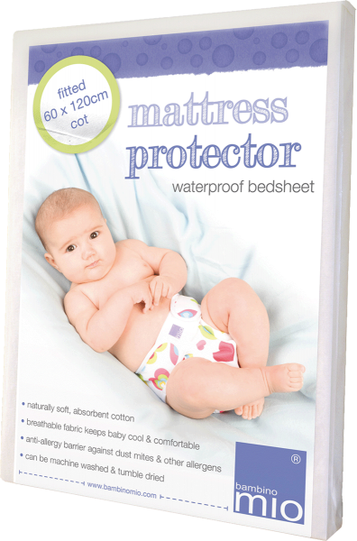 Bambino Mio Fitted Cot Mattress Protector