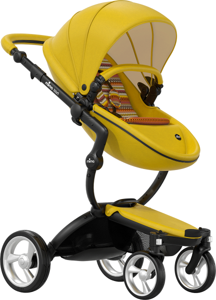 Mima Xari Stroller - Limited Edition Yellow
