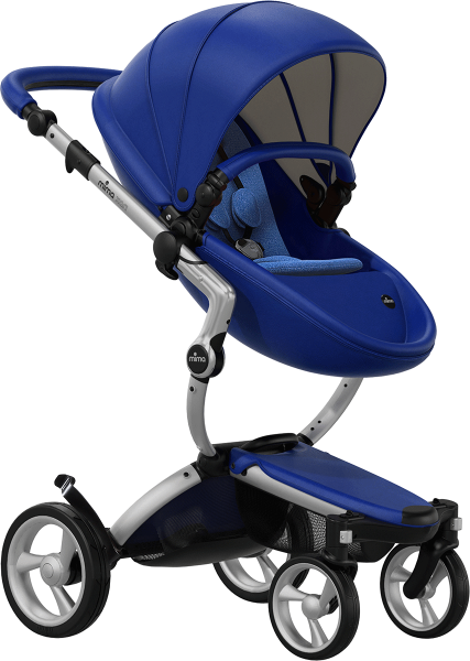 Mima Xari Stroller - Royal Blue Edition